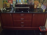 PUJA UNIT WITH DRAWERS