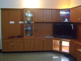 TV CABIET WITH SHELF AND INVERTOR CABINET