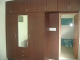 WARDROBE WITH END PANELLING